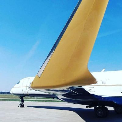 Bombardier private jet Diamond Coating