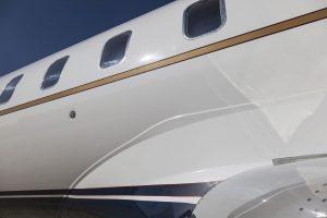 Bombardier private jet Diamond Coating