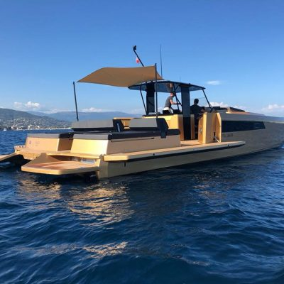 Sunreef power 40 open with Sun King Diamond Coating