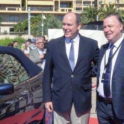 Bentley Prince Albert II Monaco