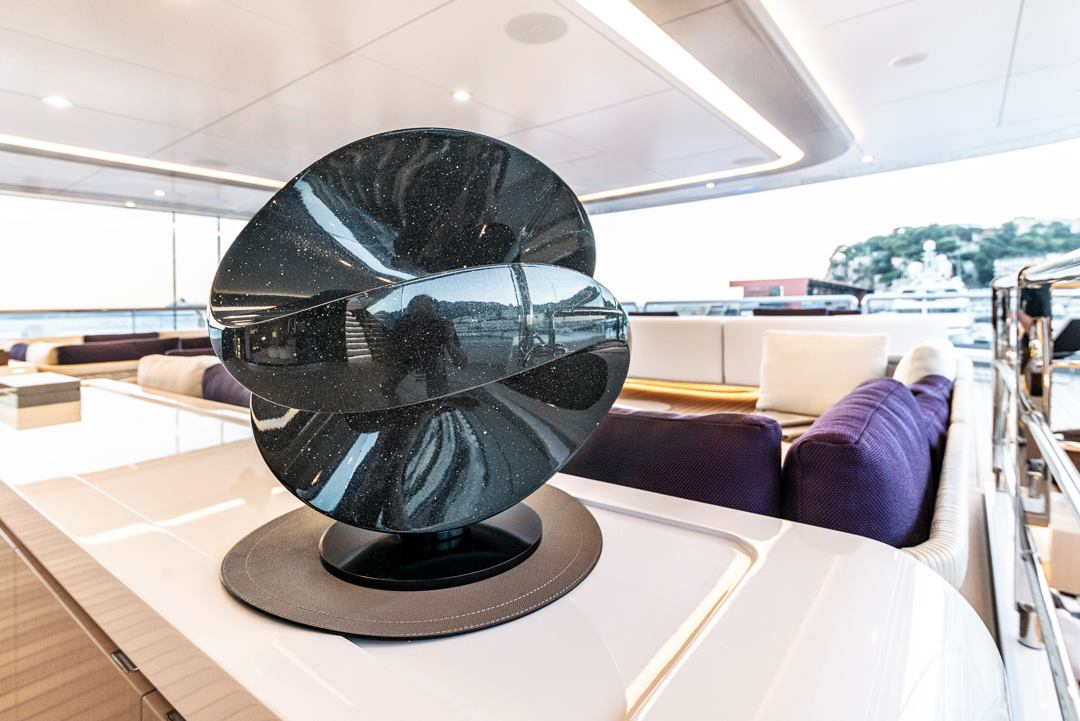 Venus on board Oceanco's DAR during the Monaco Yacht Show