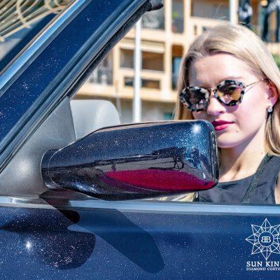 Bentley Azure detail mirror