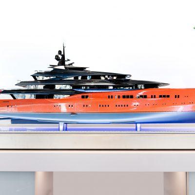 Sun King Diamond Coating applied to Oceanco's Yacht 'Lumen'
